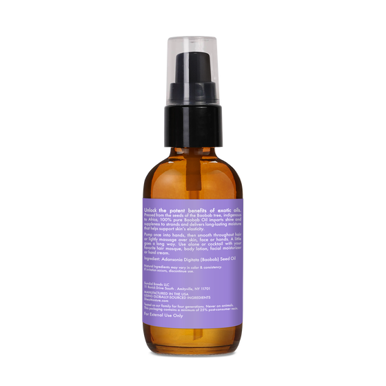 100% Pure Baobab Oil Head To Toe Nourishment