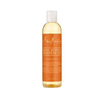 Argan Oil & Raw Shea Bath, Body & Massage Oil