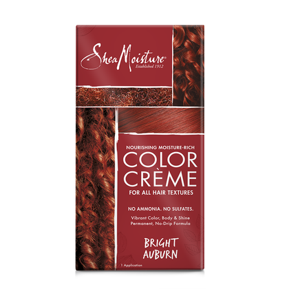 Nourishing Moisture-Rich Color Crème - Bright Auburn