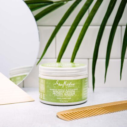 Bamboo Extract & Maca Root Resilient Length Protein Masque