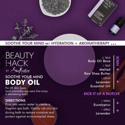 Soothe Your Mind Body Oil