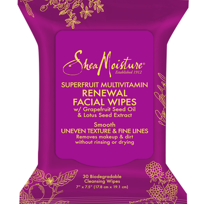 SuperFruit Multi-Vitamin Renewal Facial Wipes