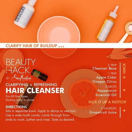 Clarifying + Refreshing Hair Cleanser