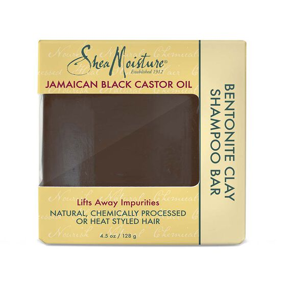 Jamaican Black Castor Oil Bentonite Clay Shampoo Bar