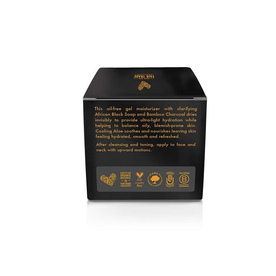 African Black Soap Bamboo Charcoal Gelee Moisturizer
