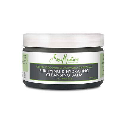 Green Coconut & Activated Charcoal Purifying & Hydrating Cleansing Balm