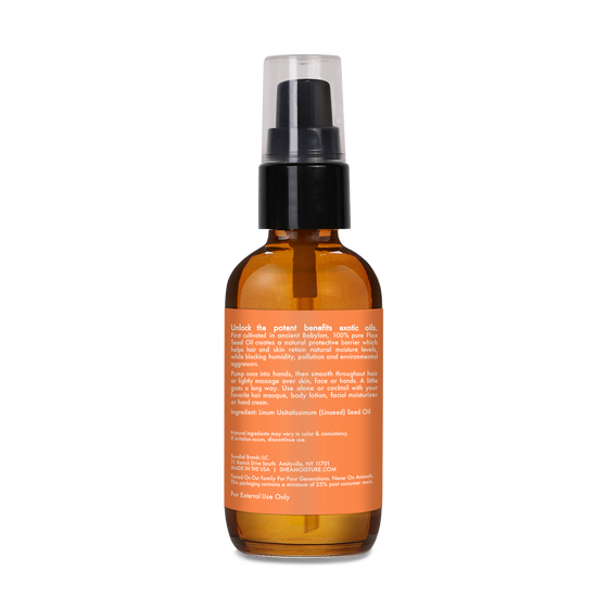100% Pure Flax Seed Oil Head To Toe Protection