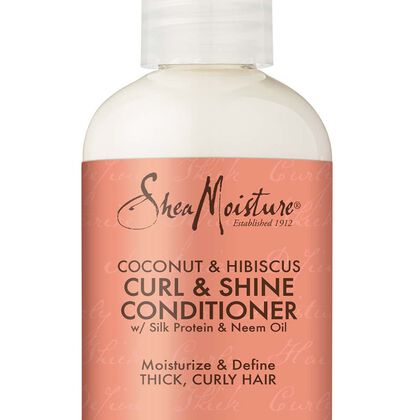 Coconut & Hibiscus Curl & Shine Conditioner - Trial & Travel Size