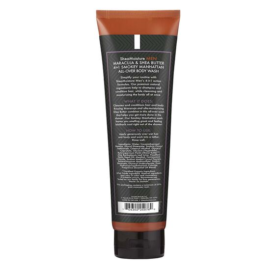 Maracuja & Shea Butter Smokey Manhattan 4in1 All-Over Wash