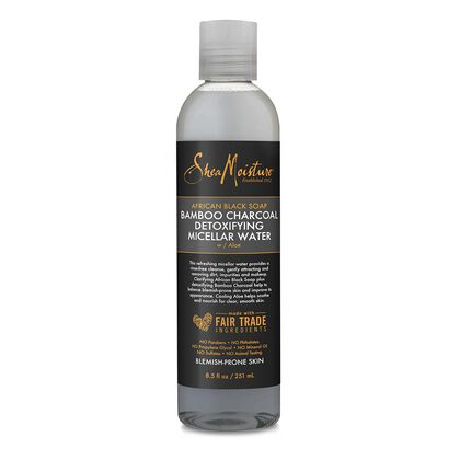 African Black Soap Bamboo Charcoal Detoxifying Micellar Water