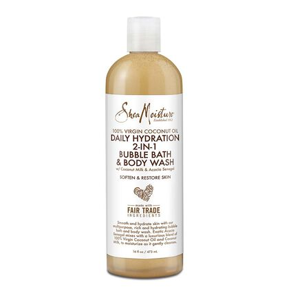 100% Virgin Coconut Oil Daily Hydration 2-In-1 Bubble Bath & Body Wash
