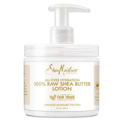 100% Raw Shea Butter Lotion