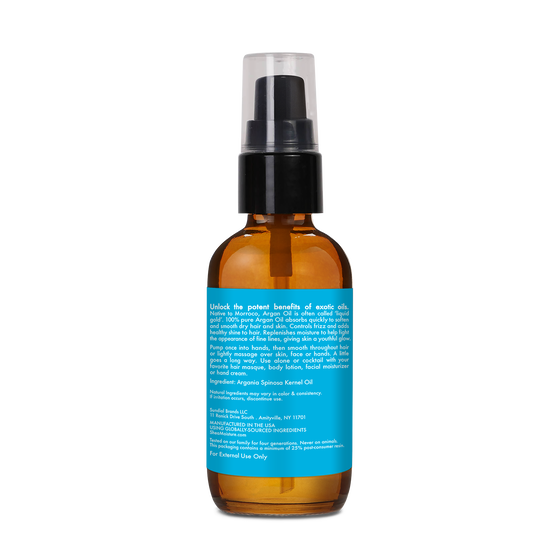 100% Pure Argan Oil Head To Toe Smoothing