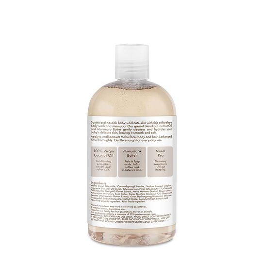 100% Virgin Coconut Oil Baby Wash & Shampoo