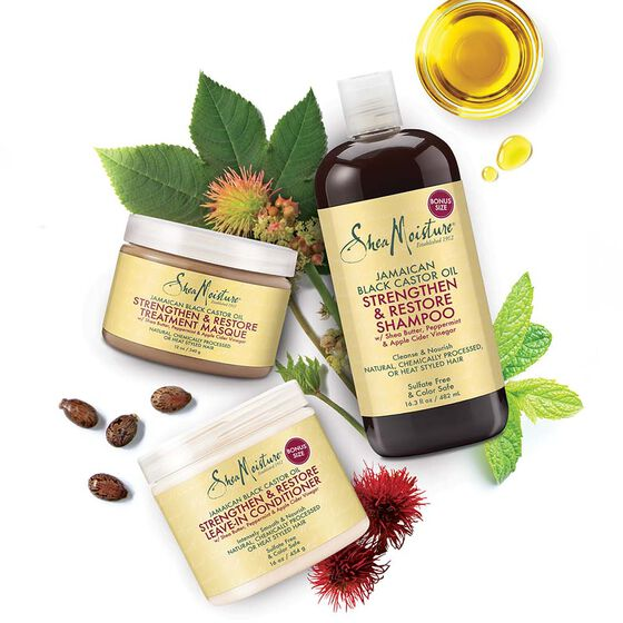 Jamaican Black Castor Oil Strengthen & Restore Treatment Masque