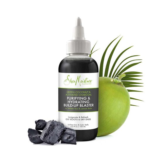 Green Coconut & Activated Charcoal Purifying & Hydrating Build-Up Blaster