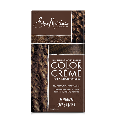 Nourishing Moisture-Rich Color Crème - Medium Chestnut Brown