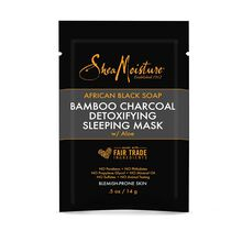 African Black Soap Bamboo Charcoal Detoxifying Sleeping Mask .5oz