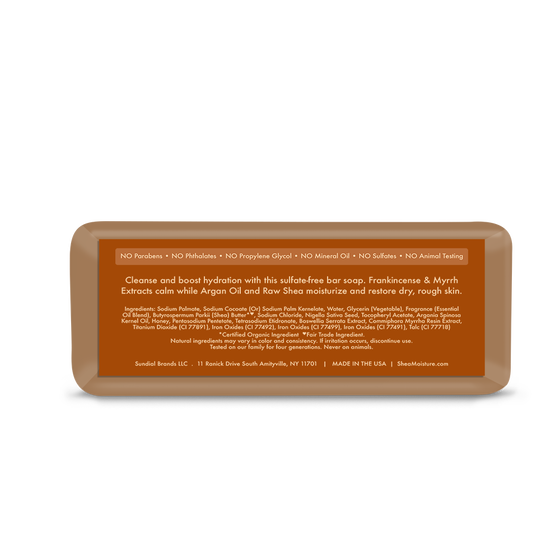 Argan Oil & Raw Shea Butter Soap