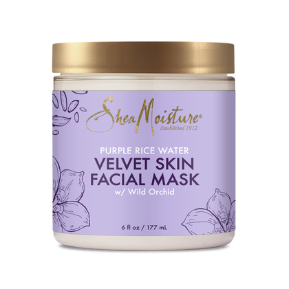 Purple Rice Water Velvet Skin Facial Mask
