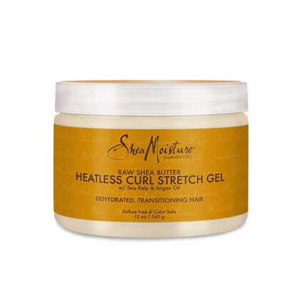 Raw Shea Butter Heatless Curl Stretch Gel