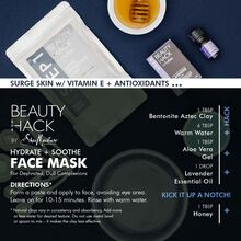 Hydrate + Soothe Face Mask