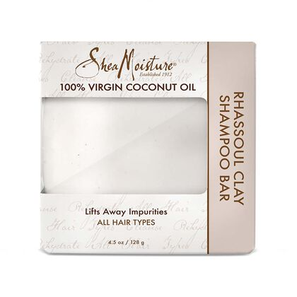 100% Virgin Coconut Oil Rhassoul Clay Shampoo Bar