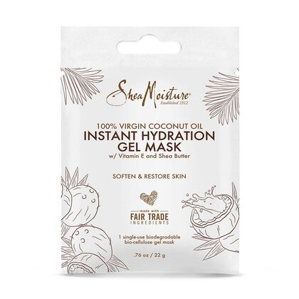 100% Virgin Coconut Oil Instant Hydration Gel Mask