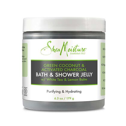 Green Coconut & Activated Charcoal Bath & Shower Jelly