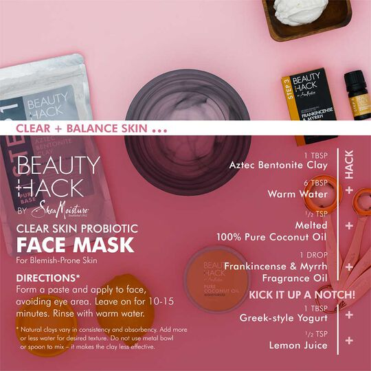 Clear Skin Probiotic Face Mask