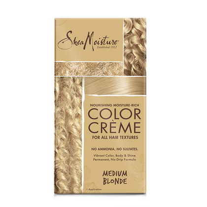 Nourishing Moisture-Rich Color Crème - Medium Blonde