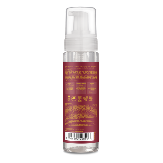 Dragon's Blood & Coffee Cherry Instant Rebound Foaming Facial Wash