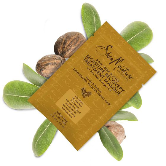 Raw Shea Butter Moisture Recovery Treatment Masque PKT