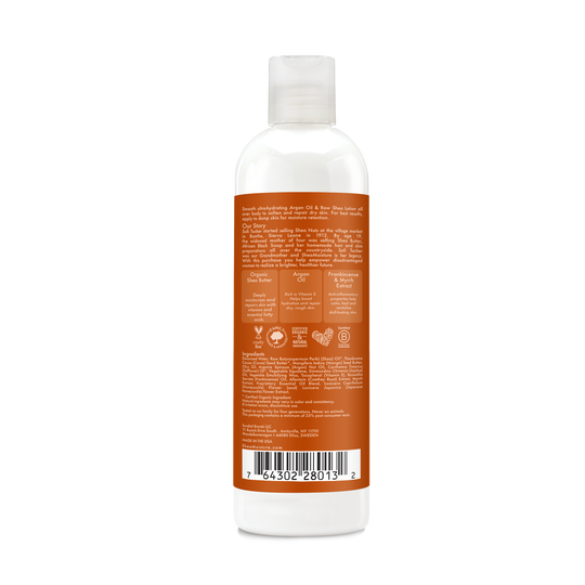 Argan Oil & Raw Shea Butter Body Lotion