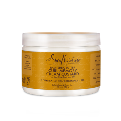 Raw Shea Butter Curl Memory Cream Custard