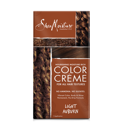 Nourishing Moisture-Rich Color Crème - Light Auburn