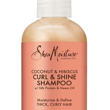 Coconut & Hibiscus Curl & Shine Shampoo - Trial & Travel Size