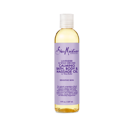 Lavender & Wild Orchid Bath, Body & Massage Oil