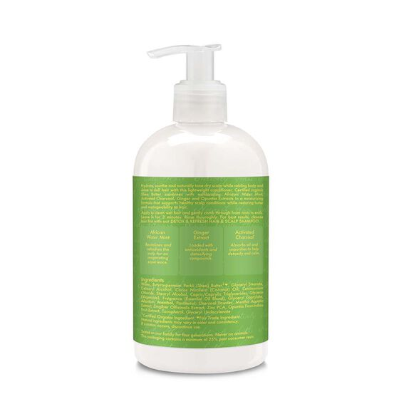 African Water Mint & Ginger Detox & Refresh Hair & Scalp Conditioner