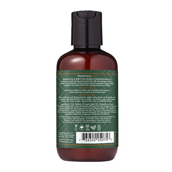 Maracuja & Shea Oils Beard Conditioning Oil Moisturize & Soften