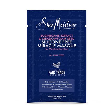 Sugarcane Extract & Meadowfoam Seed Silicone Free Miracle Masque 2oz