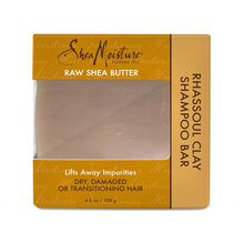 Raw Shea Butter Rhassoul Clay Shampoo Bar