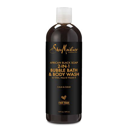 African Black Soap 2-In-1 Bubble Bath and Body Wash