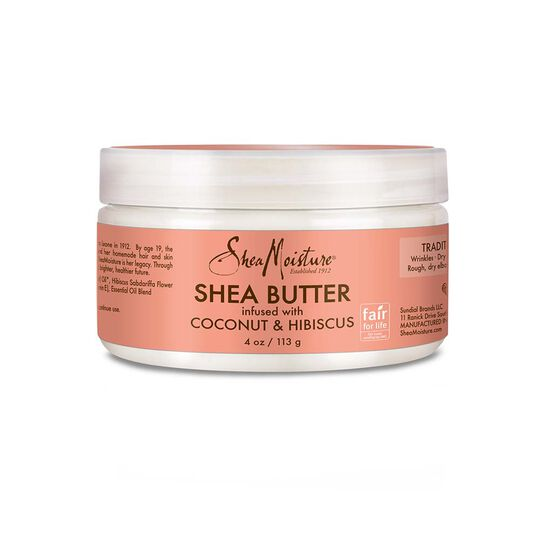 Shea Butter infused with Coconut & Hibiscus