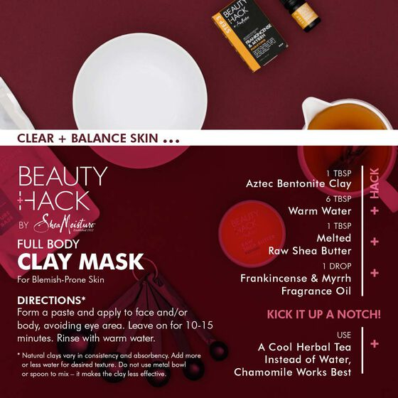 Full Body Clay Mask