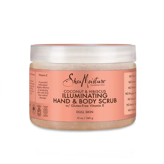 Coconut Hibiscus Illuminating Hand Body Scrub