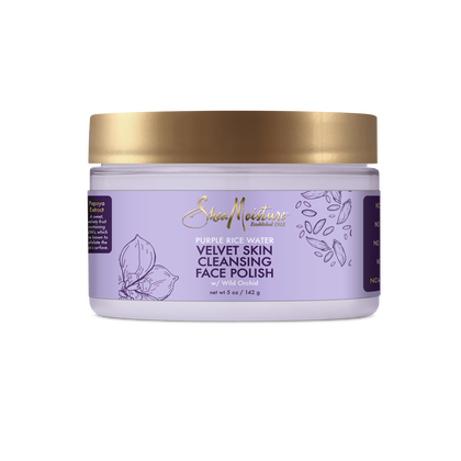 Purple Rice Water Velvet Skin Cleansing Face Polish