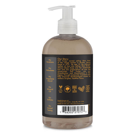 African Black Soap Soothing Liquid Hand Soap