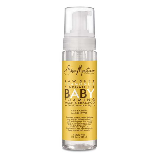 Raw Shea Chamomile & Argan Oil Baby Foaming Wash & Shampoo