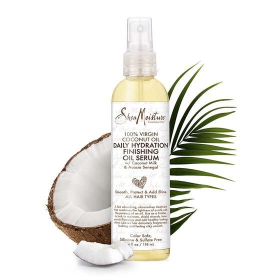 100% Virgin Coconut Oil Daily Hydration Finishing Oil Serum